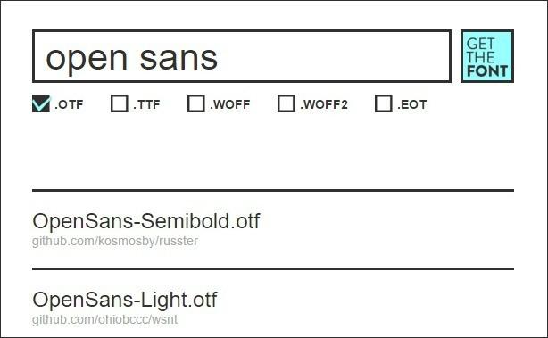 Шрифты — определить и скачать