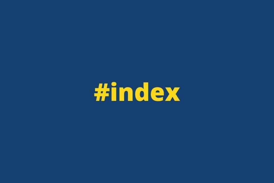 Как исправить индекс поиска Windows